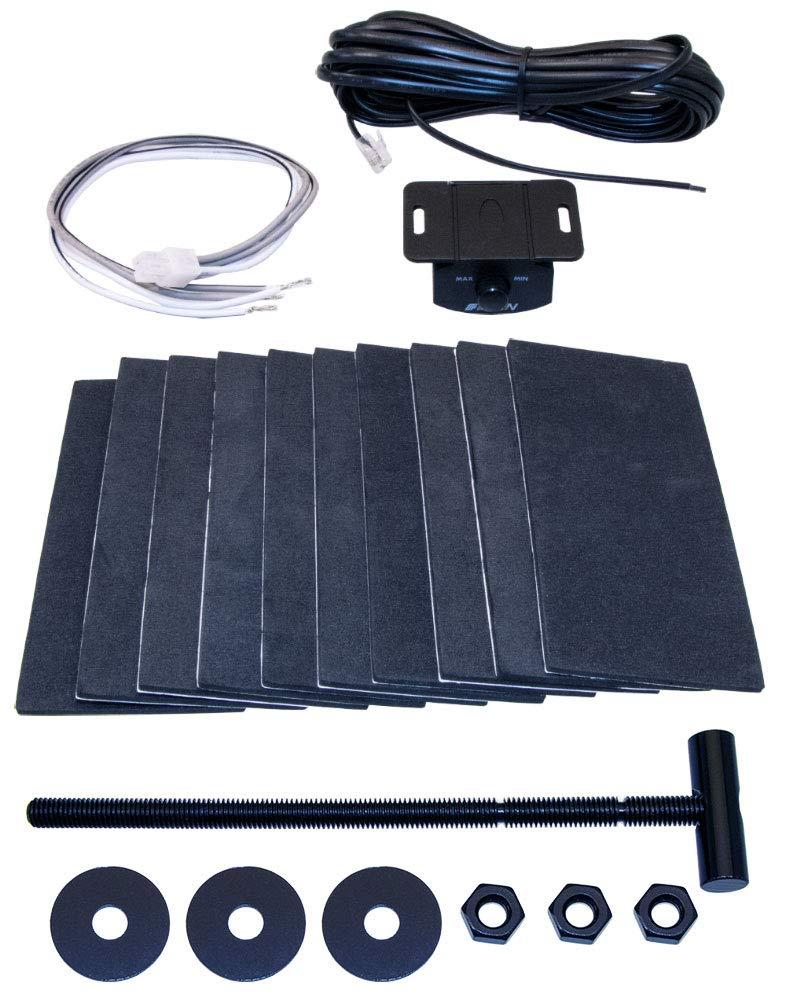 Aktiver Reserverad Subwoofer mit Strom Anschluss Kabel Kit 6qmm/² Eton RES10A Subwoofer f/ür Reserveradmulde