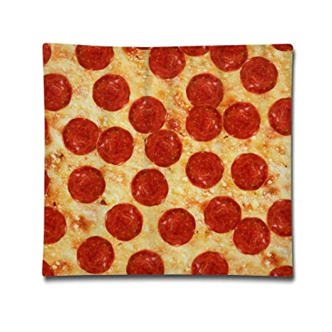 Longnankejilifeaa Pizza - Funda de cojín Decorativa ...