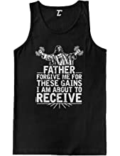 86992ca56 Từ Mỹ. Father Forgive Me for These Gains - Gym Men's Tank Top. Từ Mỹ. Small  You are Lift You Must Funny Workout Tshirts ...