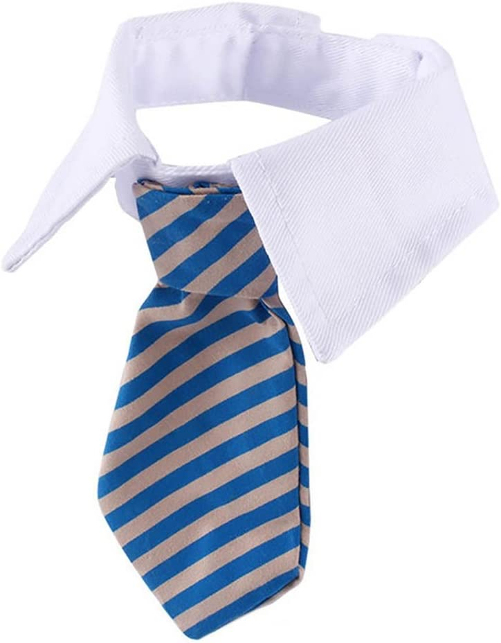 VANKER Ajustable Collar para Perro Suave de la Raya Corbata del ...