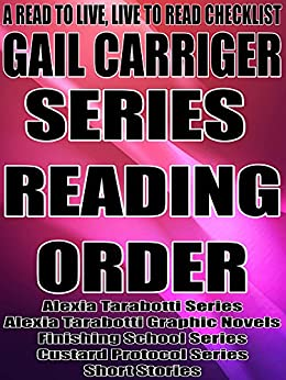 Gail carriger books in order