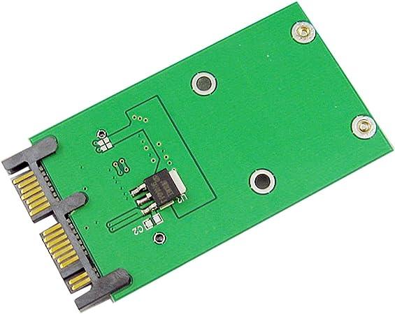 Cy Adapter Auf Platine Mini Pci E Msata Ssd Auf 1 8 Computer Zubehör
