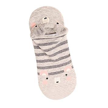 a8eeeef59 Todaies Cute Lovely Cartoon Animal Zoo Women Socks Ladies Girls Cotton Warm  Soft Sox (B