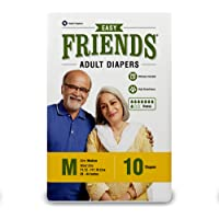 Friends Adult Diaper - 10 Count (Pack of 3, Medium)