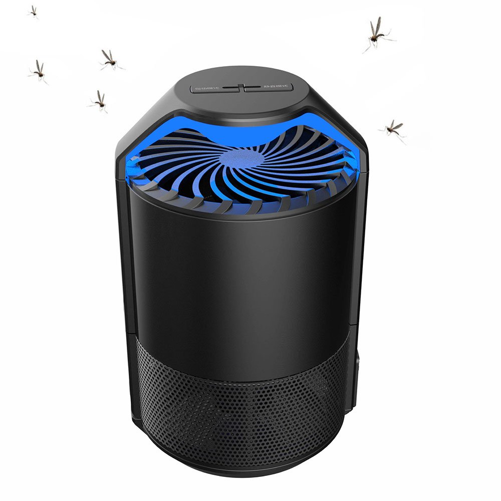 blinkle Bug Zapper Ultra-Silent Physical MosquitoKiller Electric Insect Mosquito Bug Killer with USB Powered Non-toxic UV LED Insect Fly Killer for Outdoor and Indoor