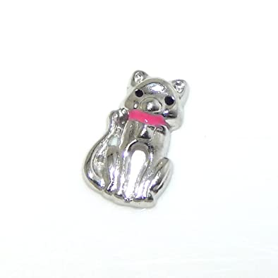 ld black charm cat for lockets htm