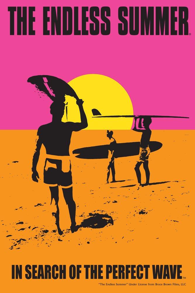 Lantern Press The Endless Summer - Original Movie Poster (9x12 Art Print, Wall Decor Travel Poster)