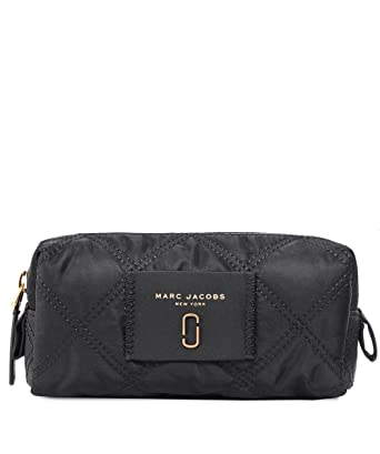 7a5bf8d0845c Marc Jacobs Women S Nylon Knot Narrow Cosmetic Bag Black One Size
