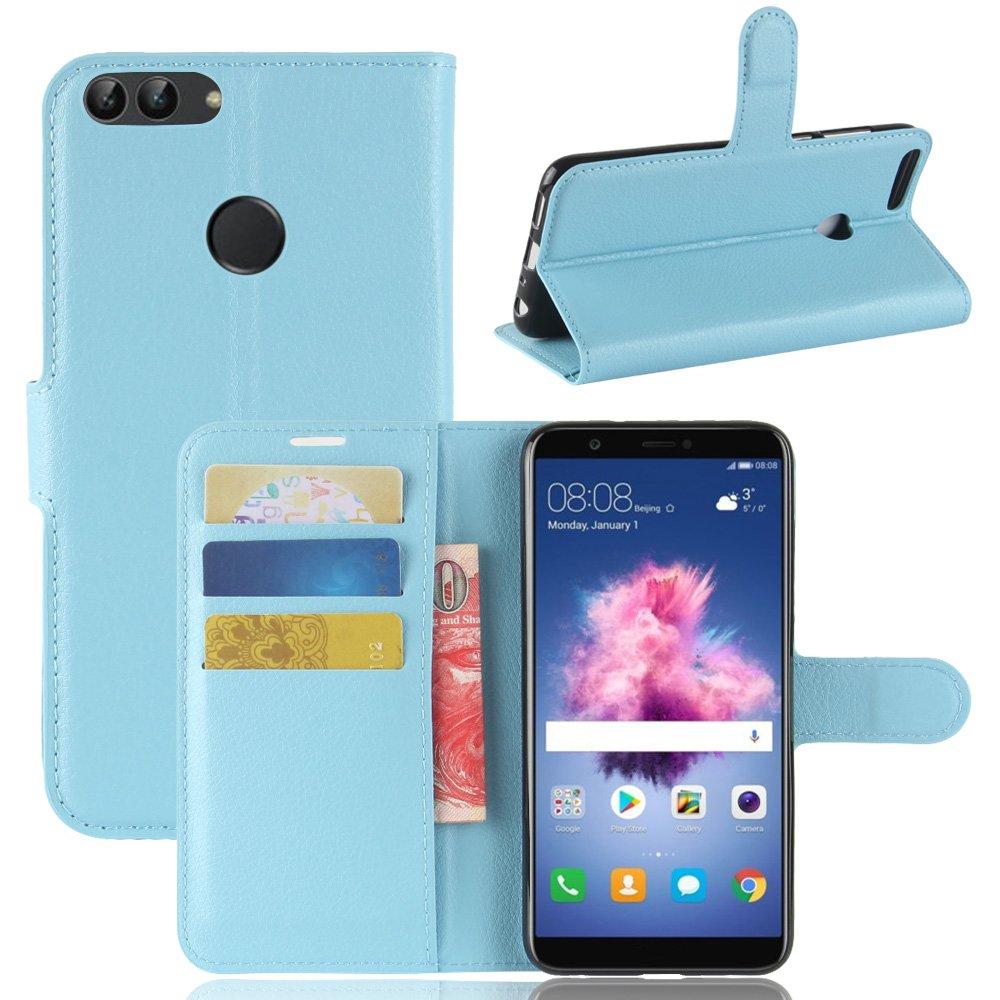 Huawei P smart Brieftasche Hülle, Stilvoller Handyhülle Fall GOGME[Geldbörse Hülle Serie] In einer multifunktionalen Retro-Stil Schutzhülle, Einschubfächer für Karten, Magnetische Verschluss, Flip Bracket Funktion Senior PU-Leder Brieftasche Telefon-Kasten