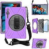 ZenRich Galaxy Tab S7 Case 11 inch 2020, zenrich SM-T870/T875 Case with S Pen Holder Heavy Duty Screen Protector Case…
