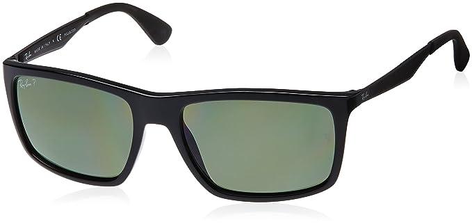 Ray-Ban 0Rb4228, Gafas de Sol para Hombre, Black, 58