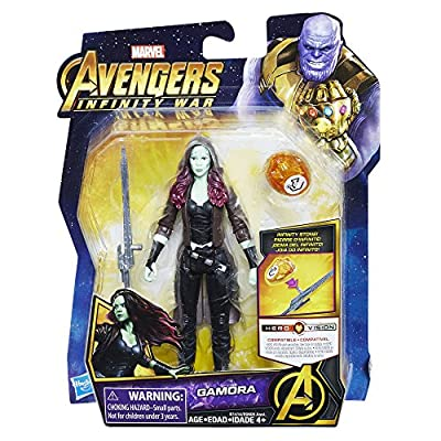 Marvel Avengers: Infinity War Gamora with Infinity Stone: Toys & Games