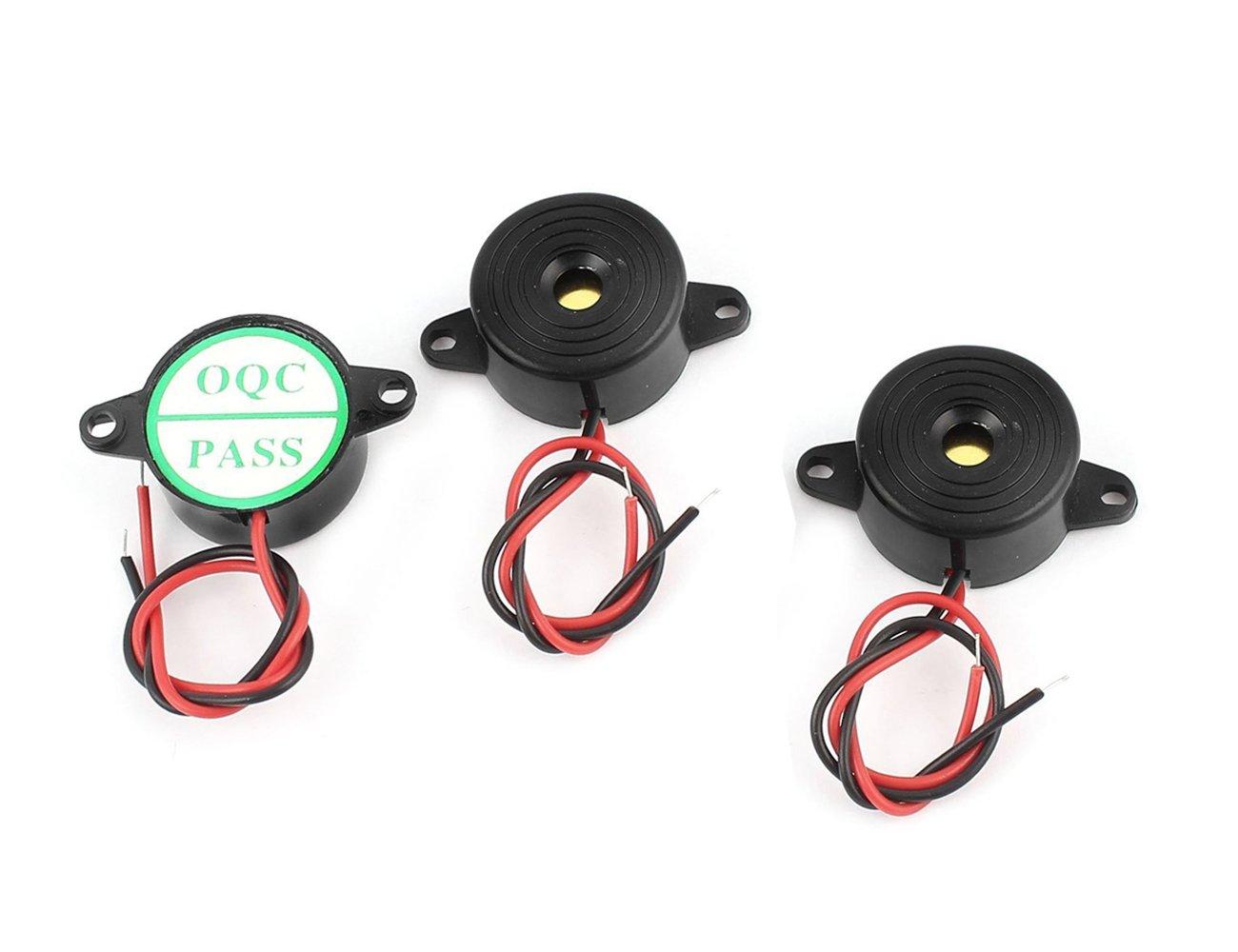 DIY Proyecto DC3 - 24 V de sonido continuo Alarma electrónica Zumbador 23 mm (DC3 - 24 V continuo sonido, 3 unidades): Amazon.es: Amazon.es