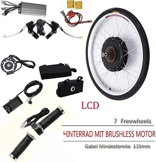 HYLH 26 Kit de conversión de Motor de Bicicleta eléctrica de Rueda ...
