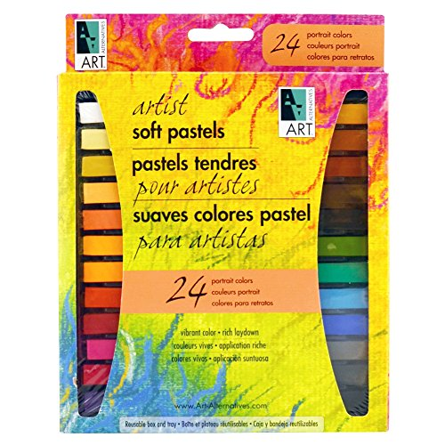 Art Alternatives Portrait Pastels Set Of 24