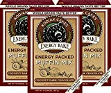 no bake energy - Kodiak Cakes Energy Bake, Non GMO, Protein Packed Muffin Mix, Coconut Dark Chocolate, 14 Ounce (Pack of 3) - With Chia Seeds
