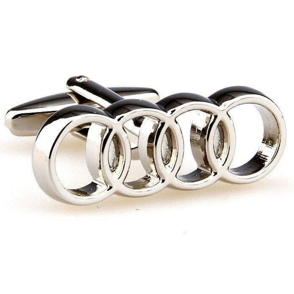 SS Audi Logo Cufflinks for Men