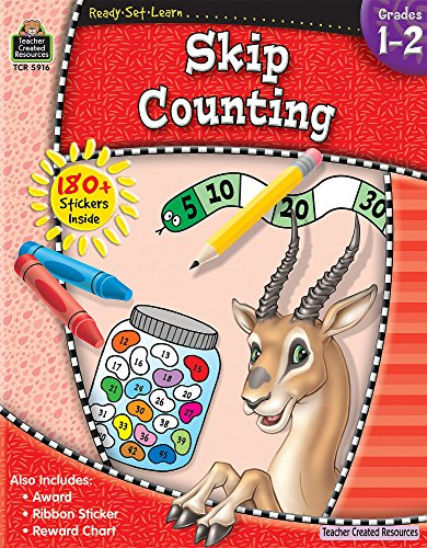 Ready-Set-Learn: Skip Counting Grd (Crayon Counting Book)