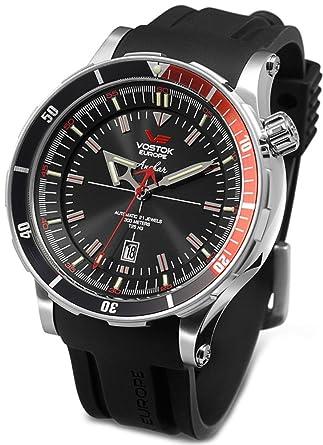low priced 4066f 0a0c7 Amazon | VOSTOK EUROPE (ボストーク ヨーロッパ) 腕時計 K162 ...