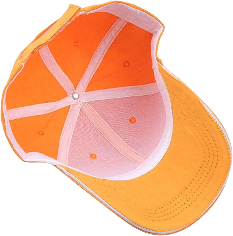 Men Women Sun Baseball Cap Hat Solid Color Multicolor Fashion Accessories Hat Hip-Hop Adjustable