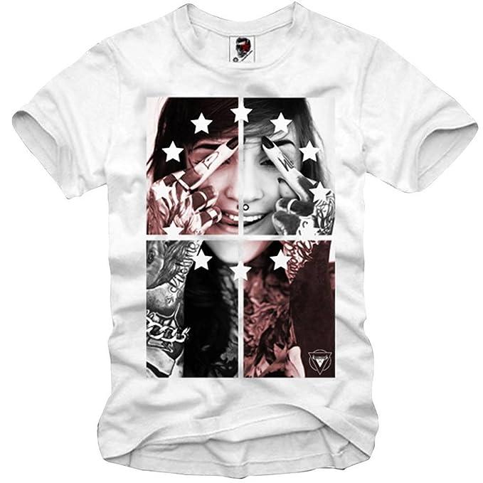 E1Syndicate T-Shirt F.K.You Supreme HBA Pyrex Bape Boost Yeezy Obey KAWS XS-