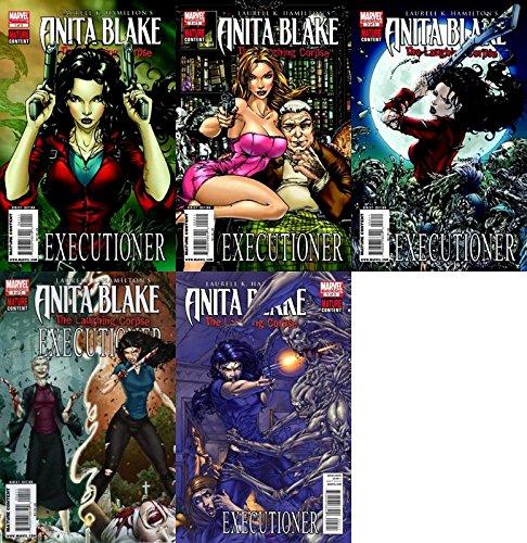 Anita Blake: The Laughing Corpse - Executioner #1-5 (2009-2010) Limited Series Marvel Comics - 5 Comics