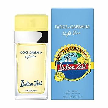 b72ac9d2ea Light Blue Italian Zest by DOLCE & GABBANA Eau de Toilette Spray 50ml:  Amazon.co.uk: Beauty