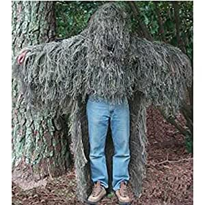 Paintball/Military Stalker Ghillie Poncho Class A Wdlnd