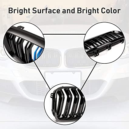 M-Color AvA Grille Grill for BMW 3 Series F30 F35 F31 320i 328i 330i 320Li 330Li 335i 2012-2018
