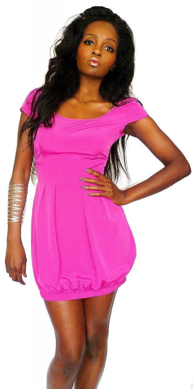 SuperModelGear Womens Planet Bubble Hem Dress