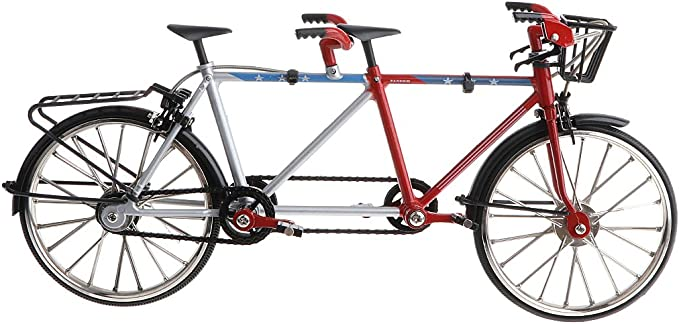 Amazon.es: Juguete Infantil Modelo de Bicicleta Tándem de Carrera ...