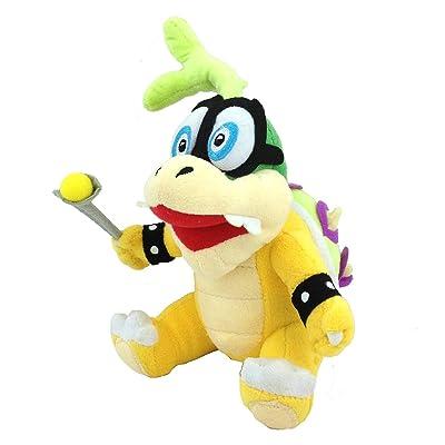 "Meijiada Super Mario Bros Iggy Koopa Hop Koopalings Bowser Kids Plush Toy Stuffed Animal 6"": Toys & Games"