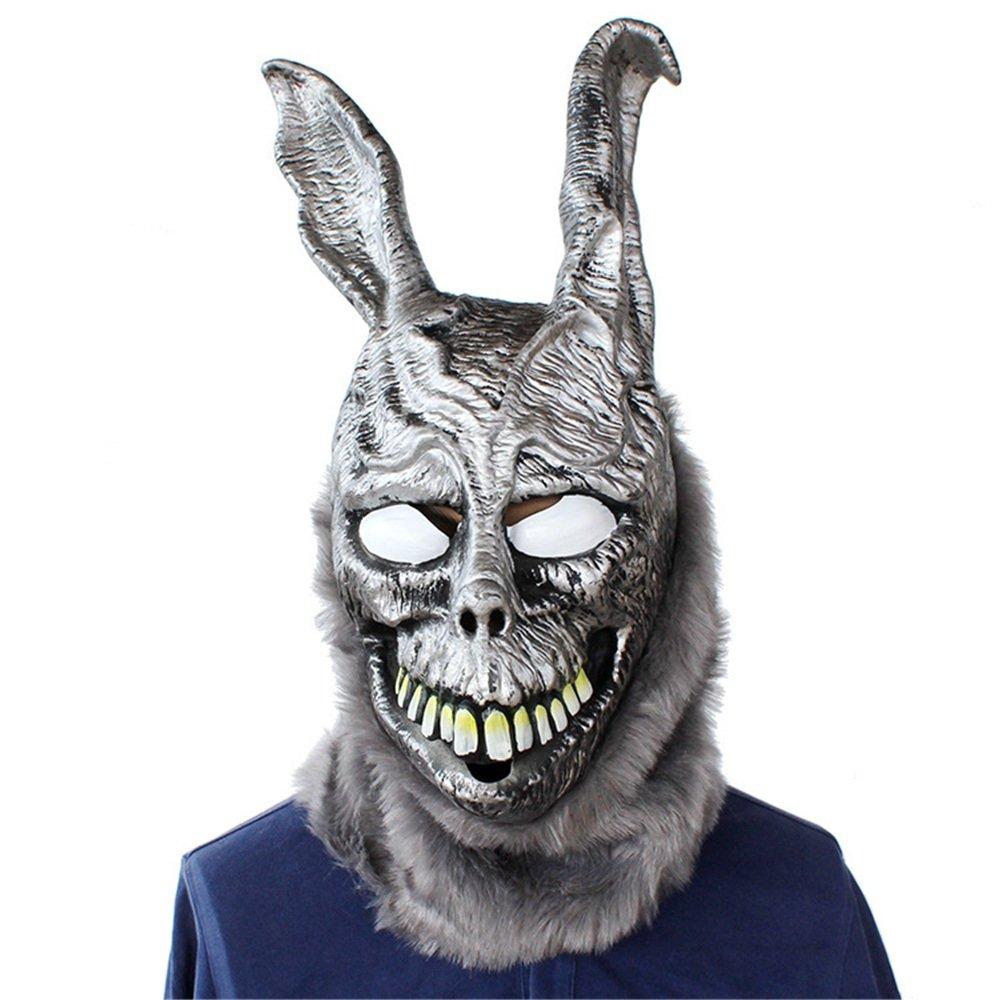 KTYX Halloween Horror, Scary Requisiten Geistertanz Parteien Poly Frank Häschens Latexmasken Maske