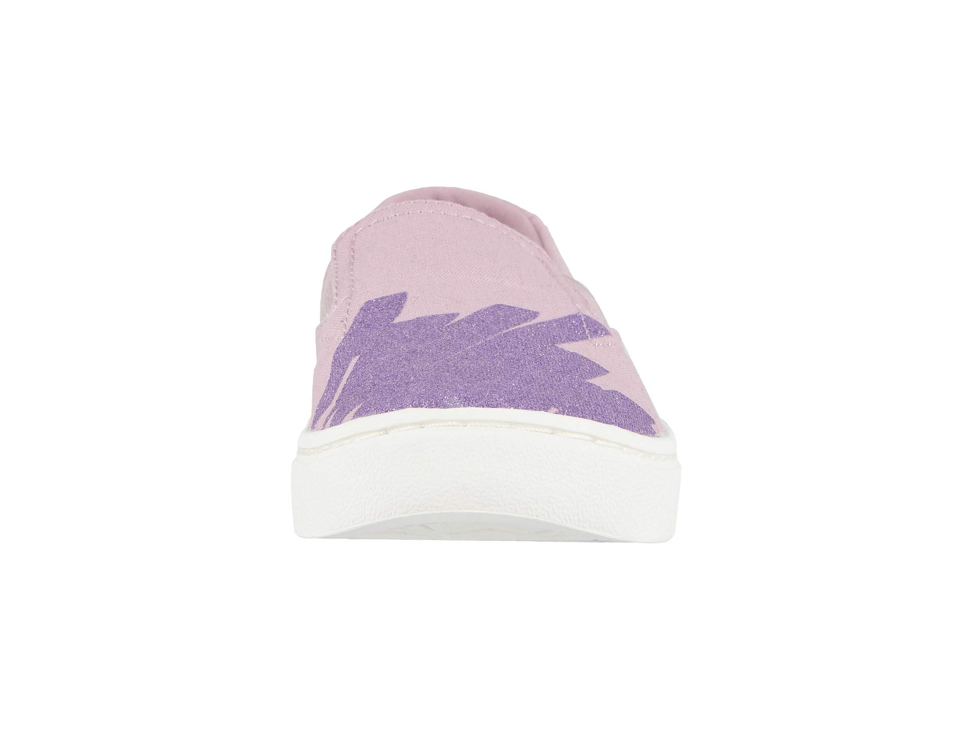 TOMS Youth Luca Slip-On Shoes, Size: 3.5 M US Big Kid, Color: Brnsh Lilac Glt Star by TOMS Kids (Image #5)