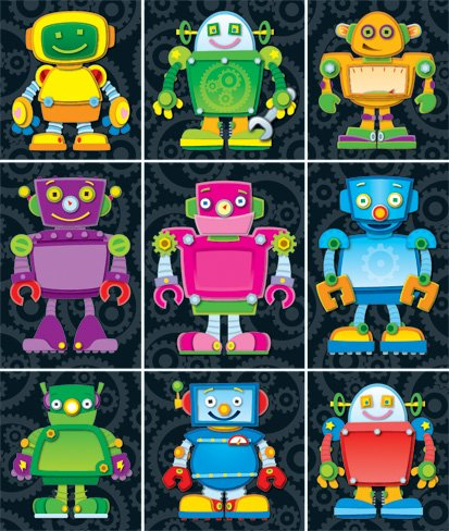 Read Online Robots Prize Pack Stickers pdf