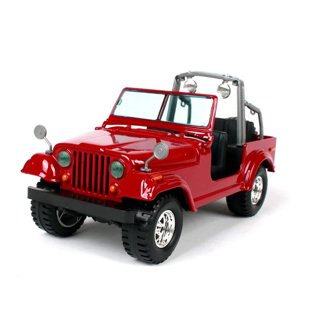 ventas de salida rojoHURONG168 Coches Vehículos Juguetes 1 a 24 Que los los los Estados Unidos de Alta Jeep Wrangler aleación de simulación Modelo de Coche Modelo de Coche Adornos de metal17cmX7.5cmX8.2cm colección de Modelos de  en venta en línea