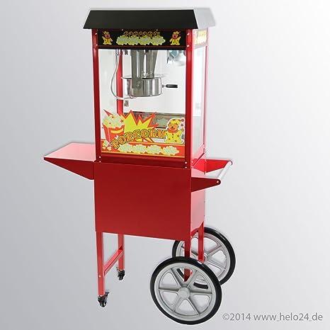 Máquina de palomitas con carro palomitas Automat palomitas cine