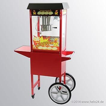 Máquina de palomitas con carro palomitas Automat palomitas cine: Amazon.es: Hogar