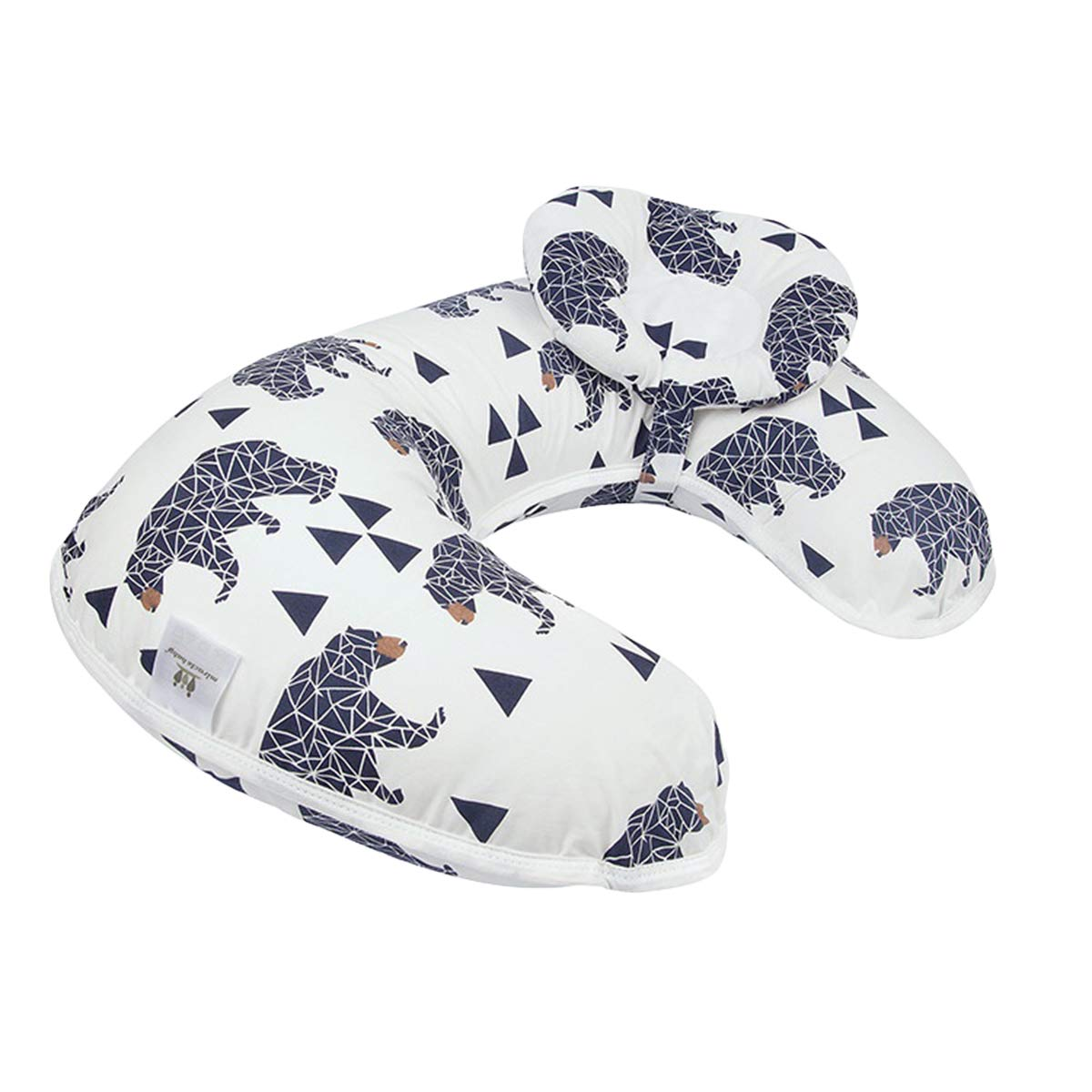 Borje New Design 45/°Angle Newborn Breastfeeding Adjustable Pillow for Babies Nursing Baby Lounger