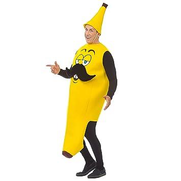 WIDMANN Srl disfraz de plátano para adulto, Multicolor ...
