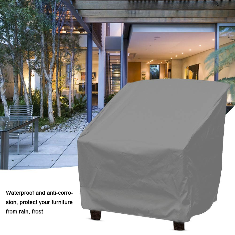 2 Wifehelper Mobili Sedia Copridivano Impermeabile Protezione Antipolvere Home Garden Esterno Uso Patio