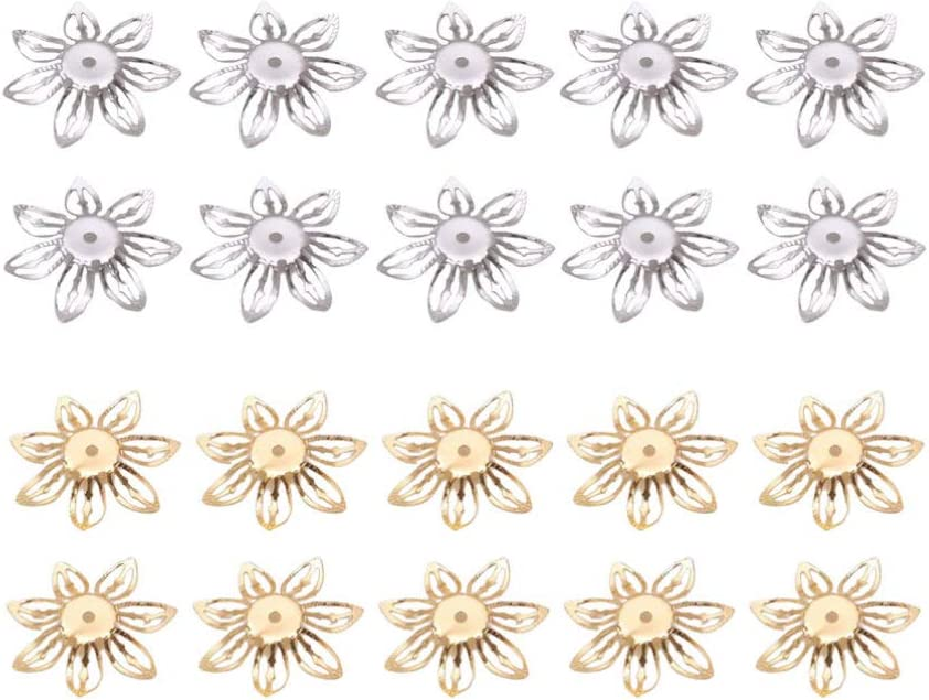 HEALLILY 200Pcs Anneaux Fendus en Acier Inoxydable Petits Porte-Cl/és en Vrac Anneau de Saut en Boucle Fendue pour Boucle doreille Bracelet Collier Bijoux Bricolage Artisanat Faisant 10 *