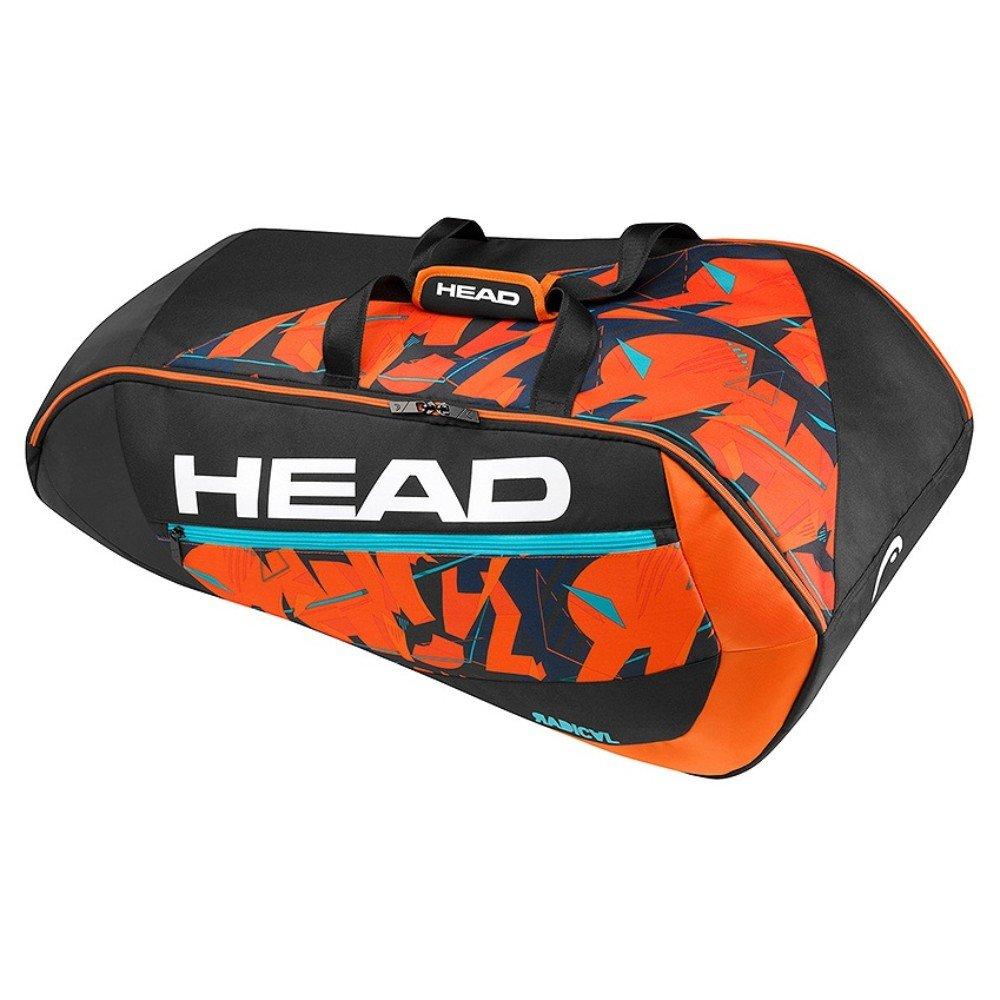 HEAD Radical 9R Supercombi BKOR Tennis Bag-Multi-Colour