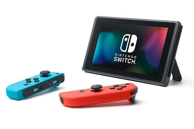 Nintendo Switch - Consola color Azul Neón/Rojo Neón + Arms: Amazon.es: Videojuegos