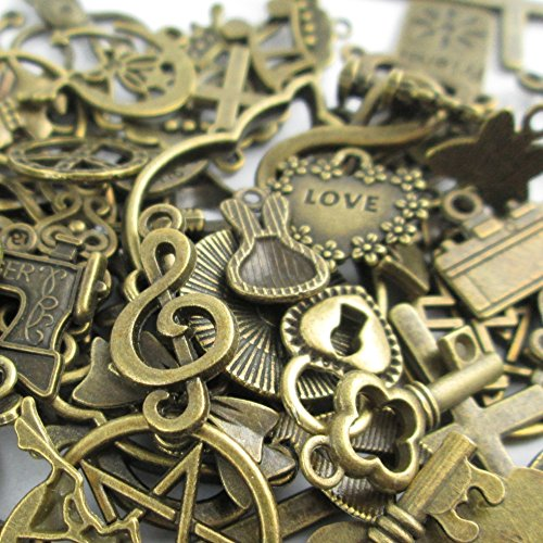 Metal Alloy Charms - 1
