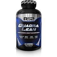 RSP QuadraLean Thermogenic Fat Burner for Men & Women, Weight Loss Supplement, Crash-Free Energy, Metabolism Booster & Appetite Suppressant, Diet Pills, 60 Servings