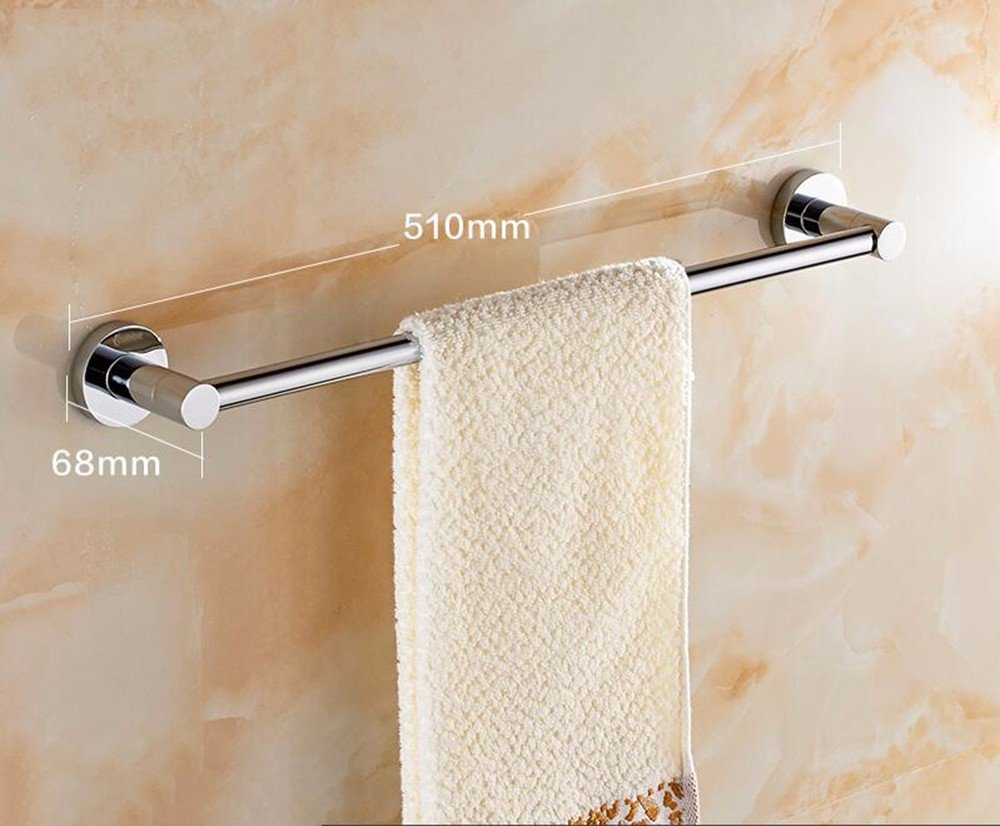 Yomiokla Bathroom Accessories - Kitchen, Toilet, Balcony and Bathroom Metal Towel Ring suction power plastic towel-15cm Width 4.5cm
