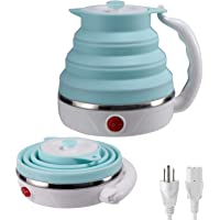 Travel Foldable Electric Kettle, Collapsible Electric Kettle Food Grade Silicone Small Electric Kettle Boiling water…