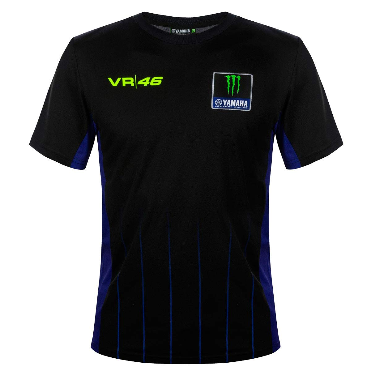Master Lap Camiseta Valentino Rossi Yamaha Negra
