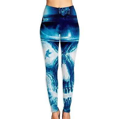 Ewtretr Mujer Pantalones de Yoga Pantalones Deportivos, Blue ...
